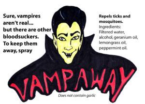 Label of VampAway
